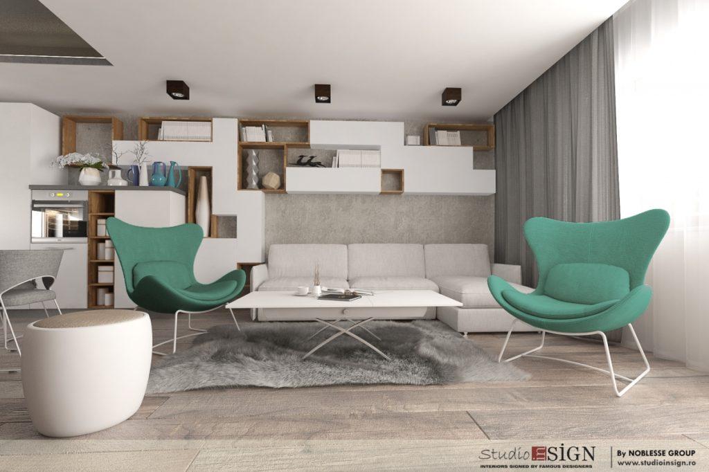 Apartament unirii bucuresti design interior in stil modern - Design interior apartamente ...