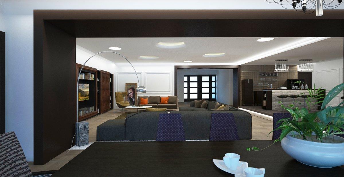 Casa prelungirea ghencea bucuresti design interior in for Casa moderna 5