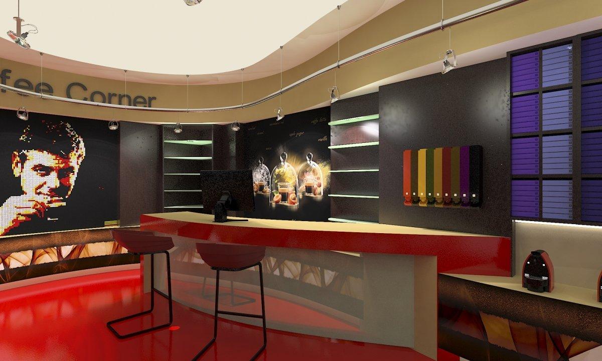 Coffee Corner - Amenajare interioara magazin de cafea-7