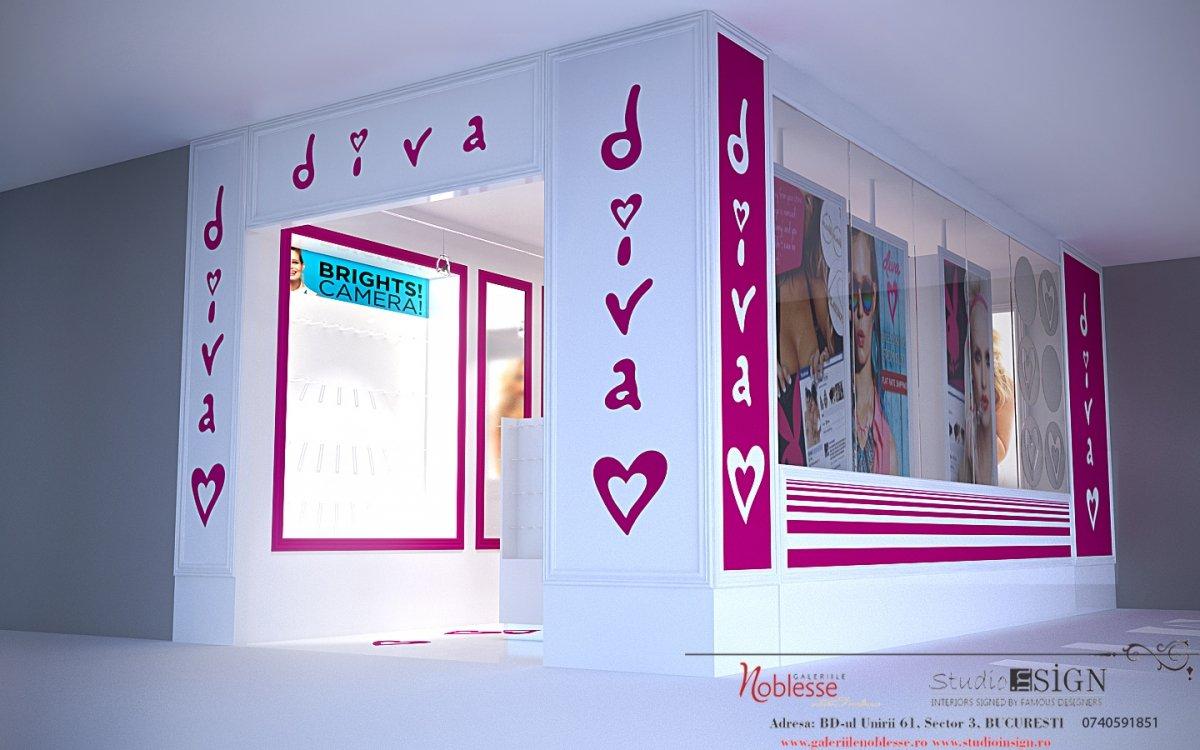 DIVA- amenajare interioara magazin de bijuterii-2