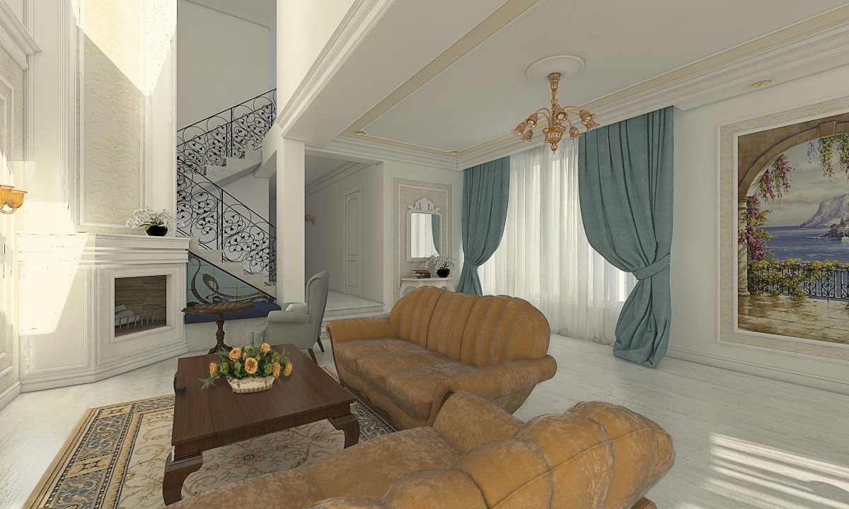 share HOUSE IN BRAILA u2013 CLASSIC INTERIOR