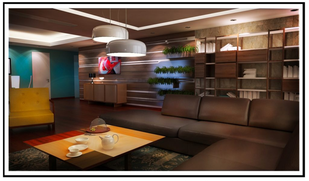 Apartment in residential complex modern interior design for Apartment design guide part 5