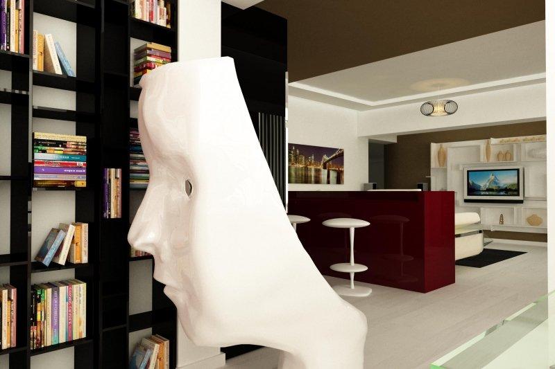 Design interior apartament - Vedere la Dunare-1