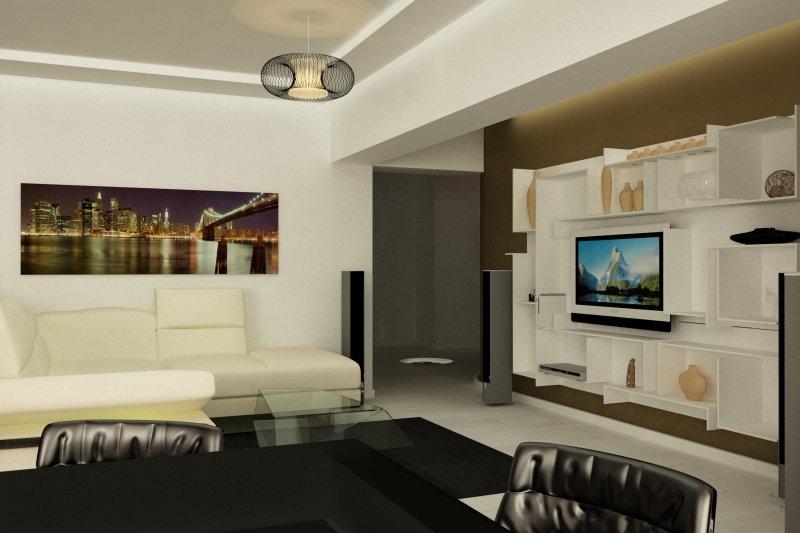 Design interior apartament - Vedere la Dunare-2