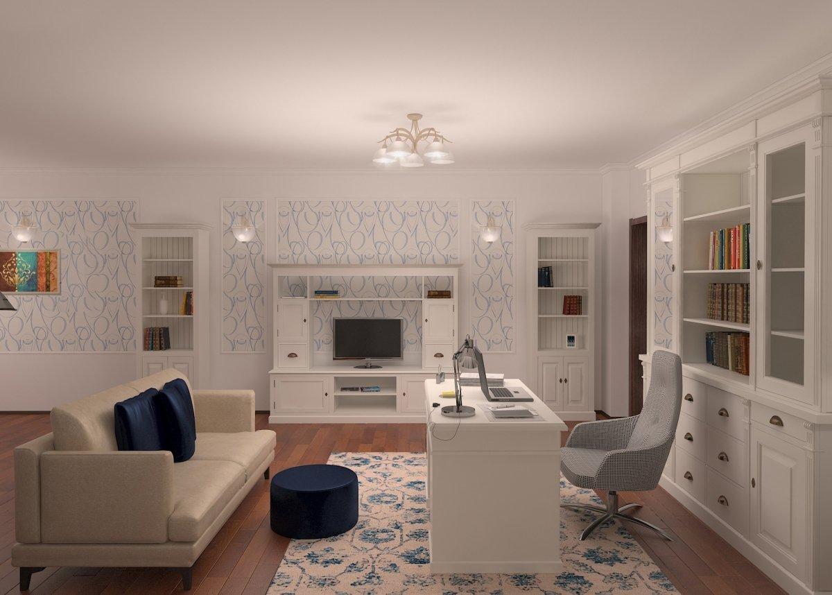 Design interior apartament eclectic - Bucuresti, cartier Orhideea-1