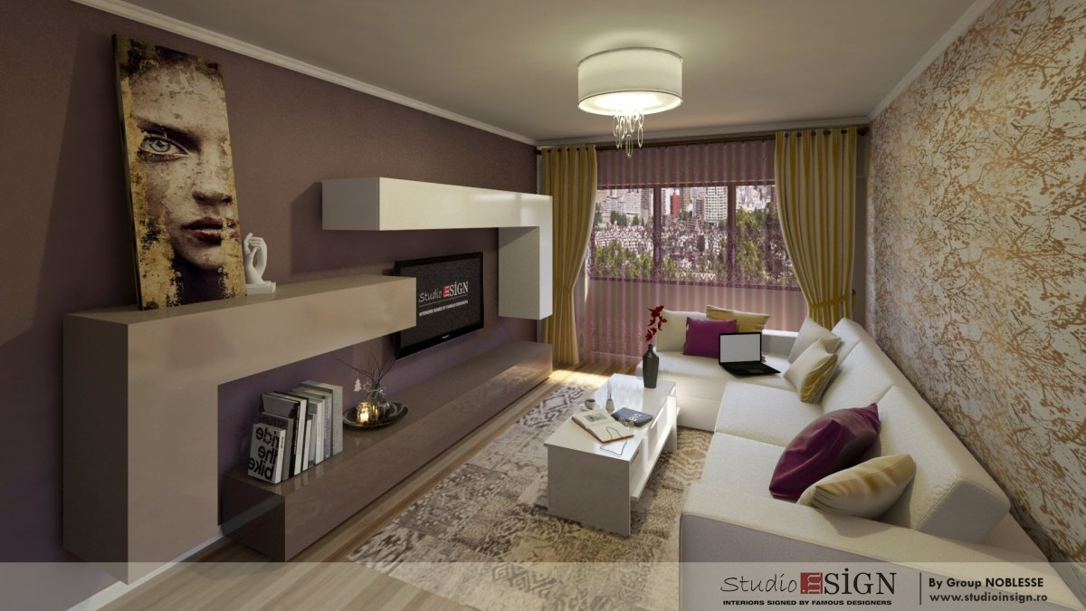 Design interior apartament in iasi studio insign for Make interior design online