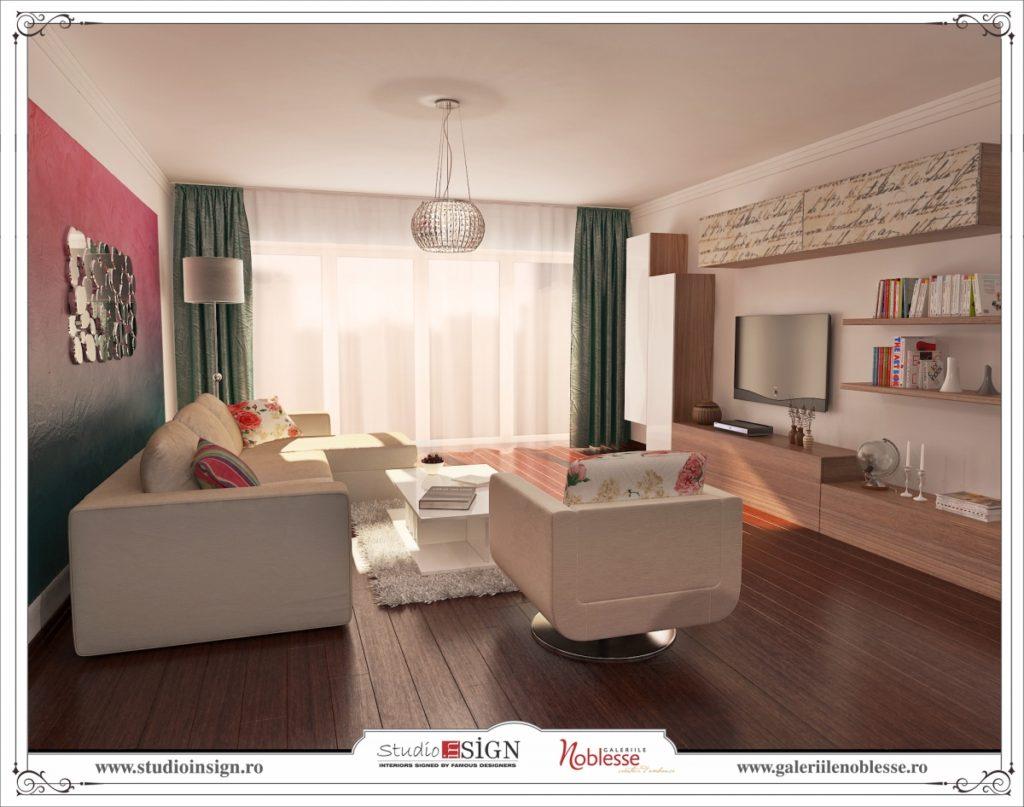 Design interior apartament modern in bucuresti 3 studio insign - Design interior apartamente ...