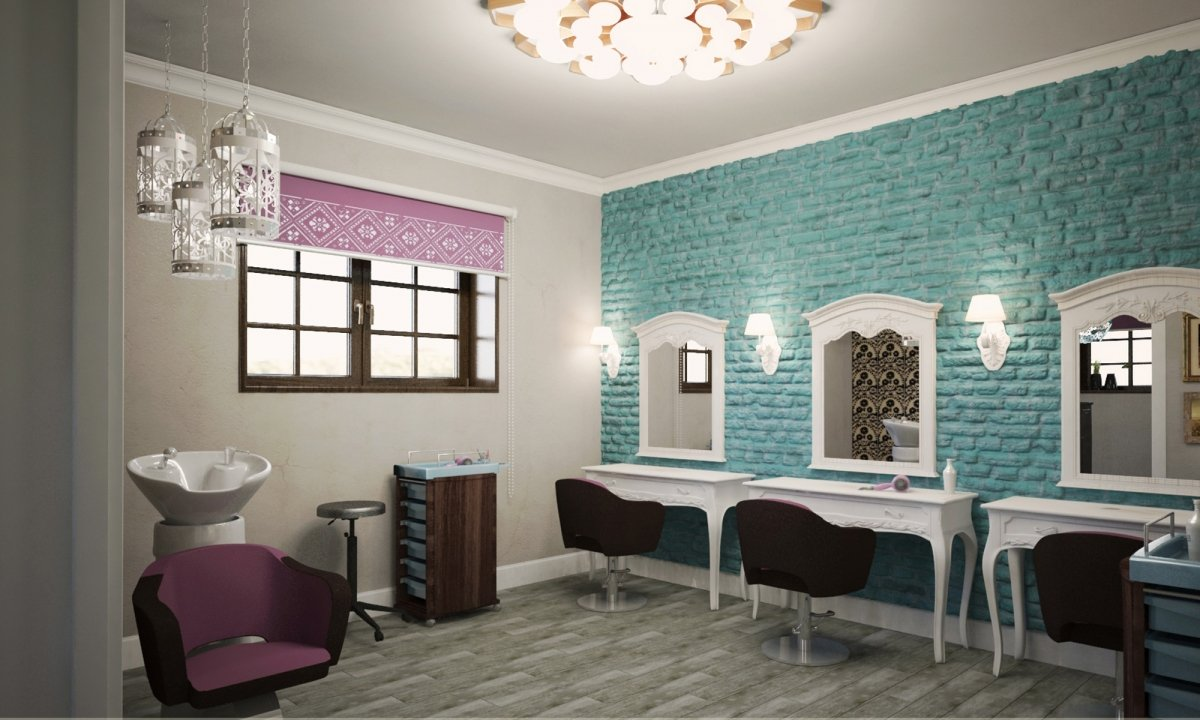 Design interior salon cosmetica si coafor Vila Margareta-4