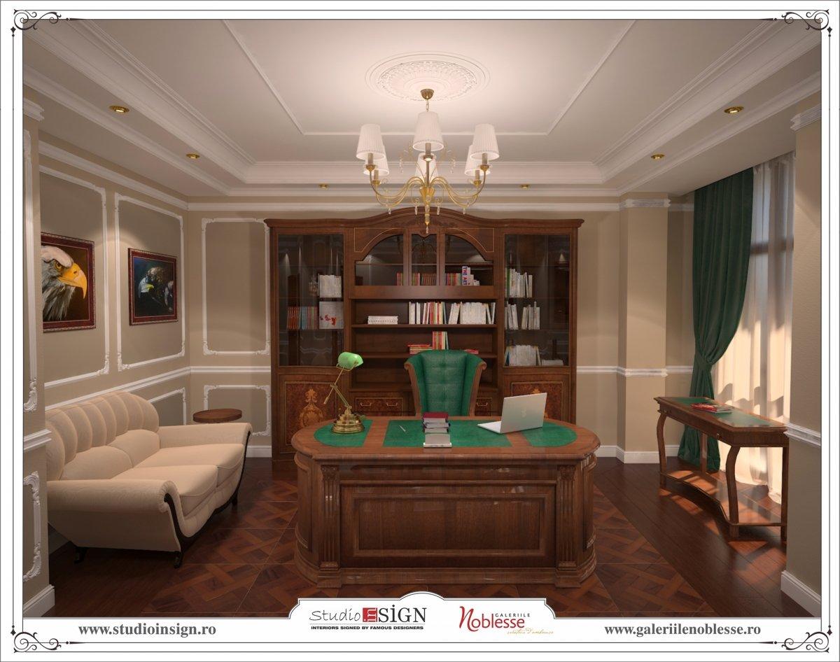 Proiect amenajare interioara - Birouri Macin-7