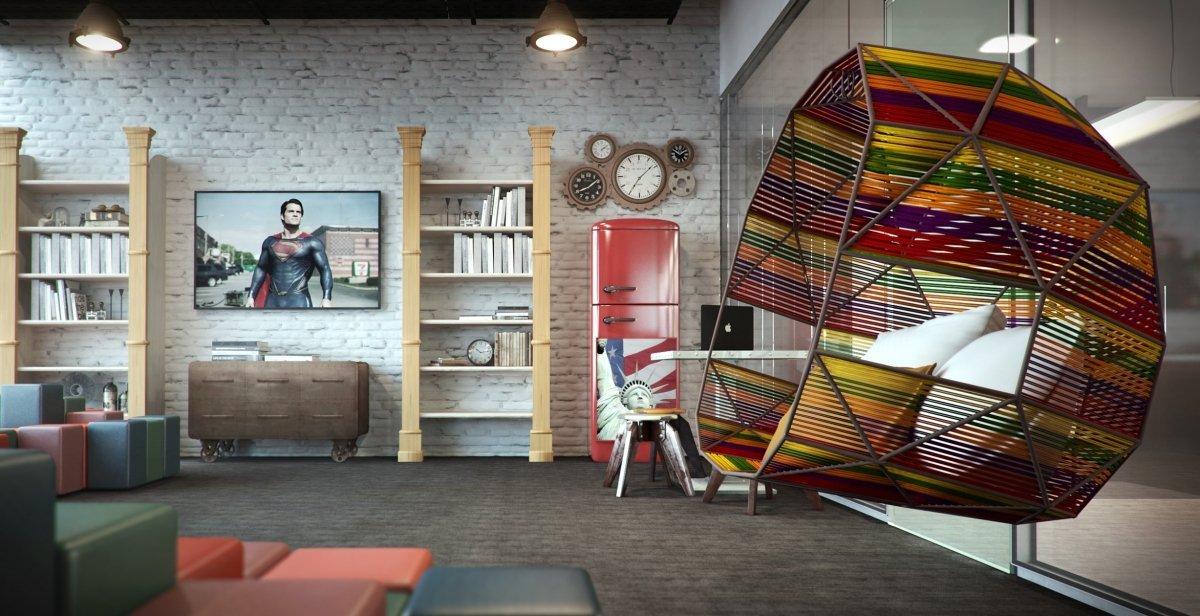 Proiect de amenajare office Luxoft-12