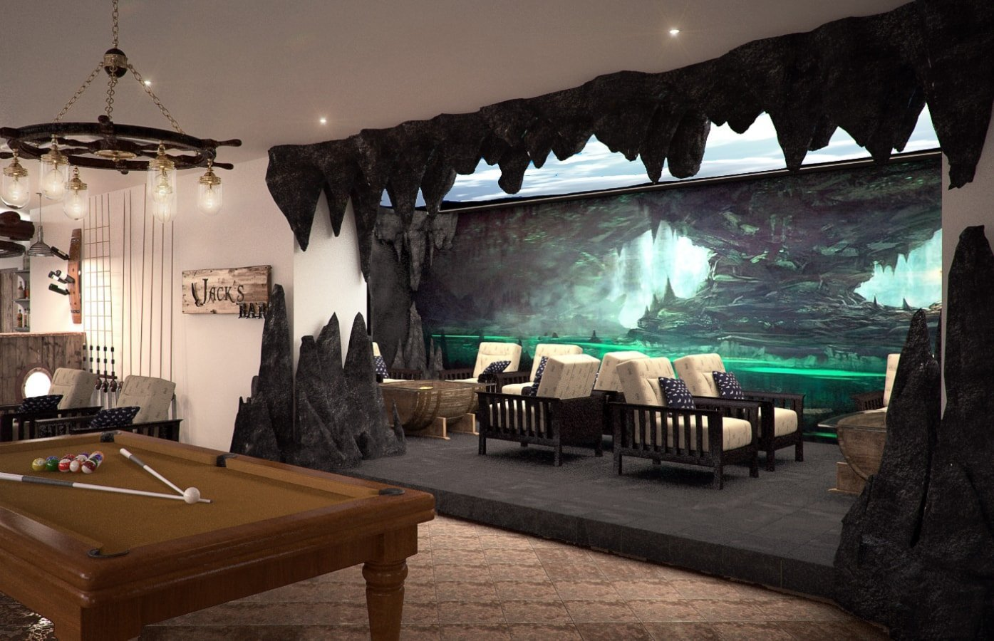 lobby lounge bicaz hotel pirates resort mamaia thematical rh studioinsign ro  pirate ship interior design