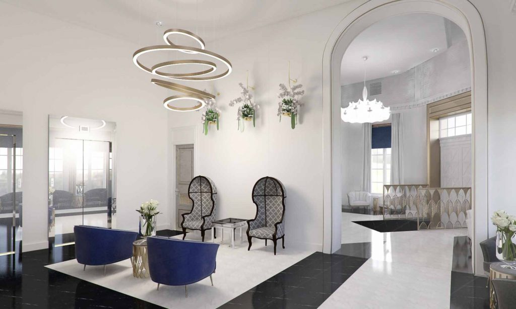 In order to preserve the hotelu0027s former interior design style and bring it to our modern times our designers have opted for the art deco style