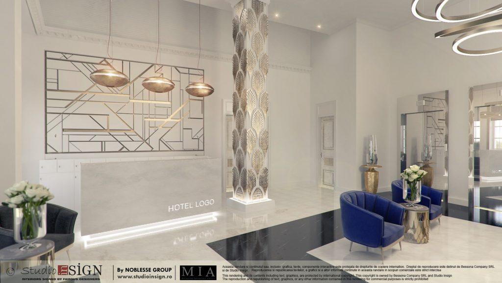 Art deco interior design studio insign for Design hotel 21