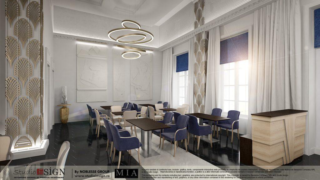 HOTEL 5-stars, BUCHAREST – ART DECO INTERIOR DESIGN ...
