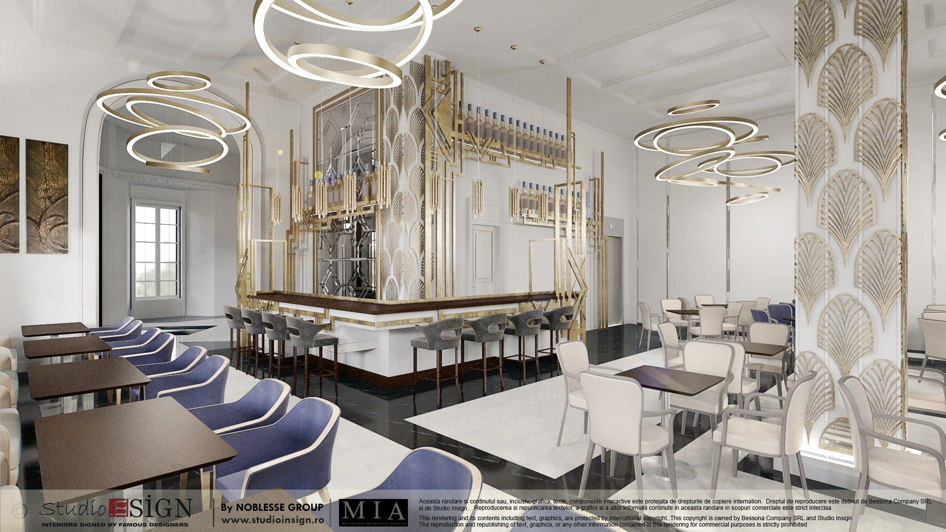 Hotel 5 stars bucharest art deco interior design for Design hotel essen