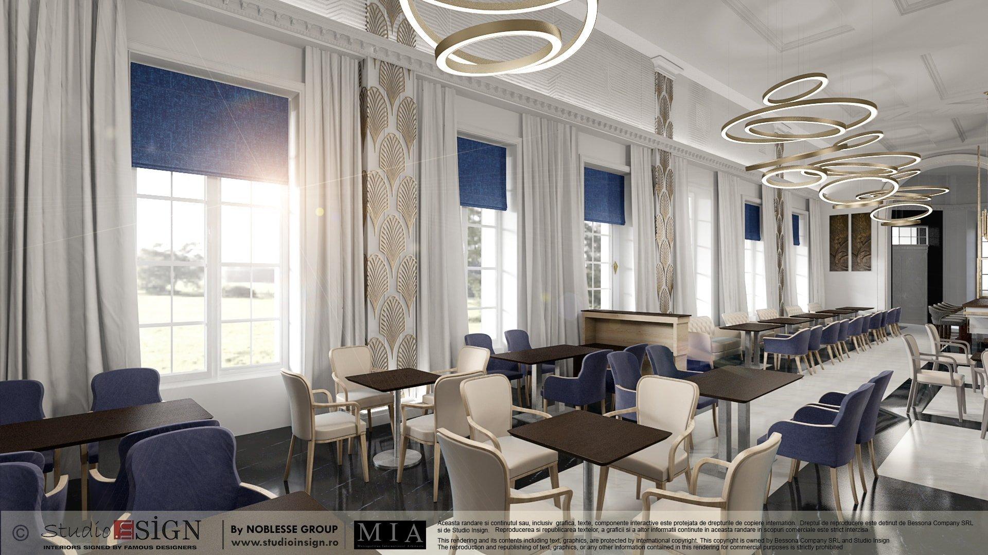 Art Deco Restaurant Design. Plants With Art Deco Restaurant Design ...