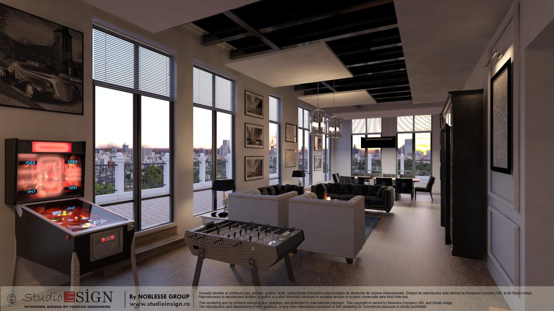 PENTHOUSE FLOREASCA BUCHAREST - CONTEMPORARY INTERIOR DESIGN & REDESIGN APARTMENT u2013 ECLECTIC INTERIOR DESIGN | Studio inSIGN