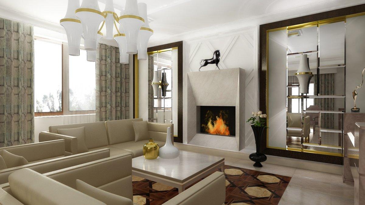 Semineul povestea rafinata a unui design interior casa for Imagini case moderne