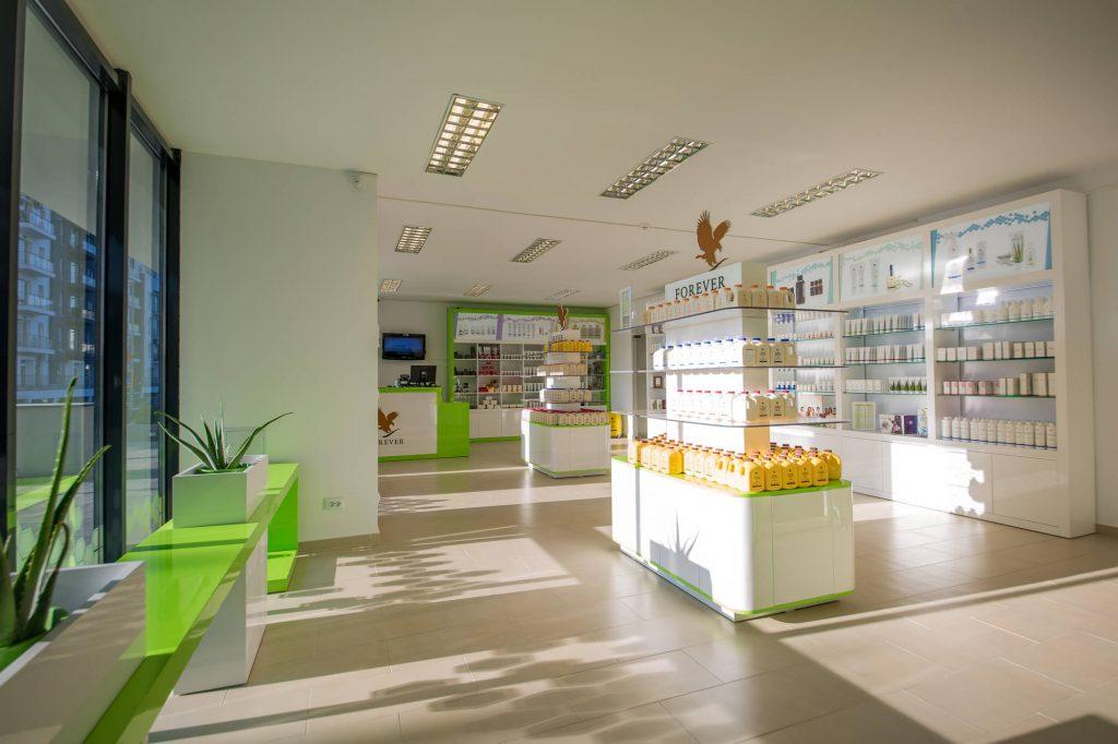 STUDIO INSIGN PROIECT FINALIZAT design interior spatii publice FOREVER LIVING CLUJ