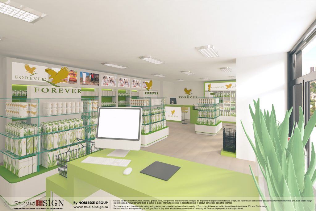 STUDIO INSIGN PROIECT FOREVER LIVING CLUJ