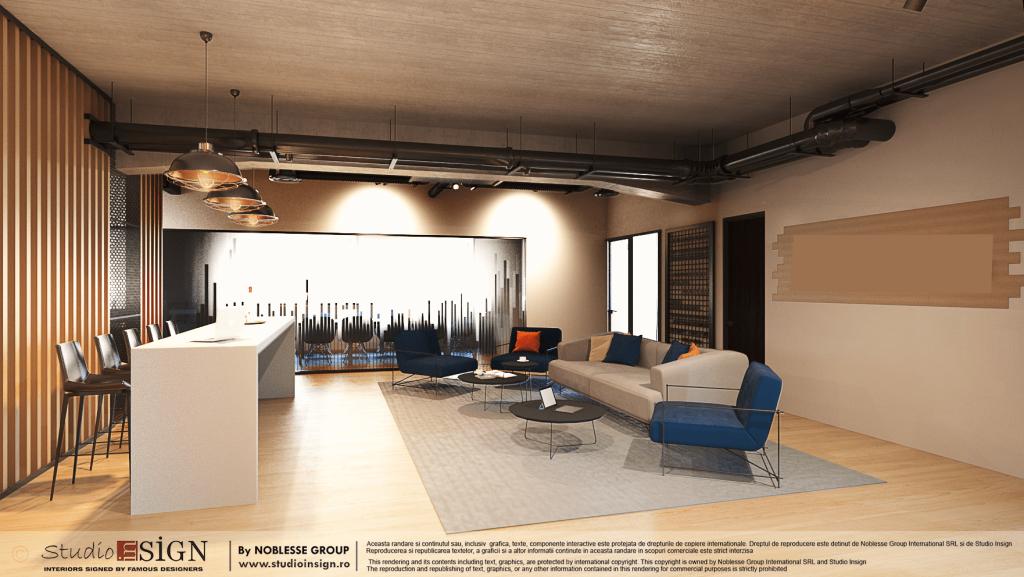 Digital Marketing Offices Modern Industrial Interior Design Studio Insign