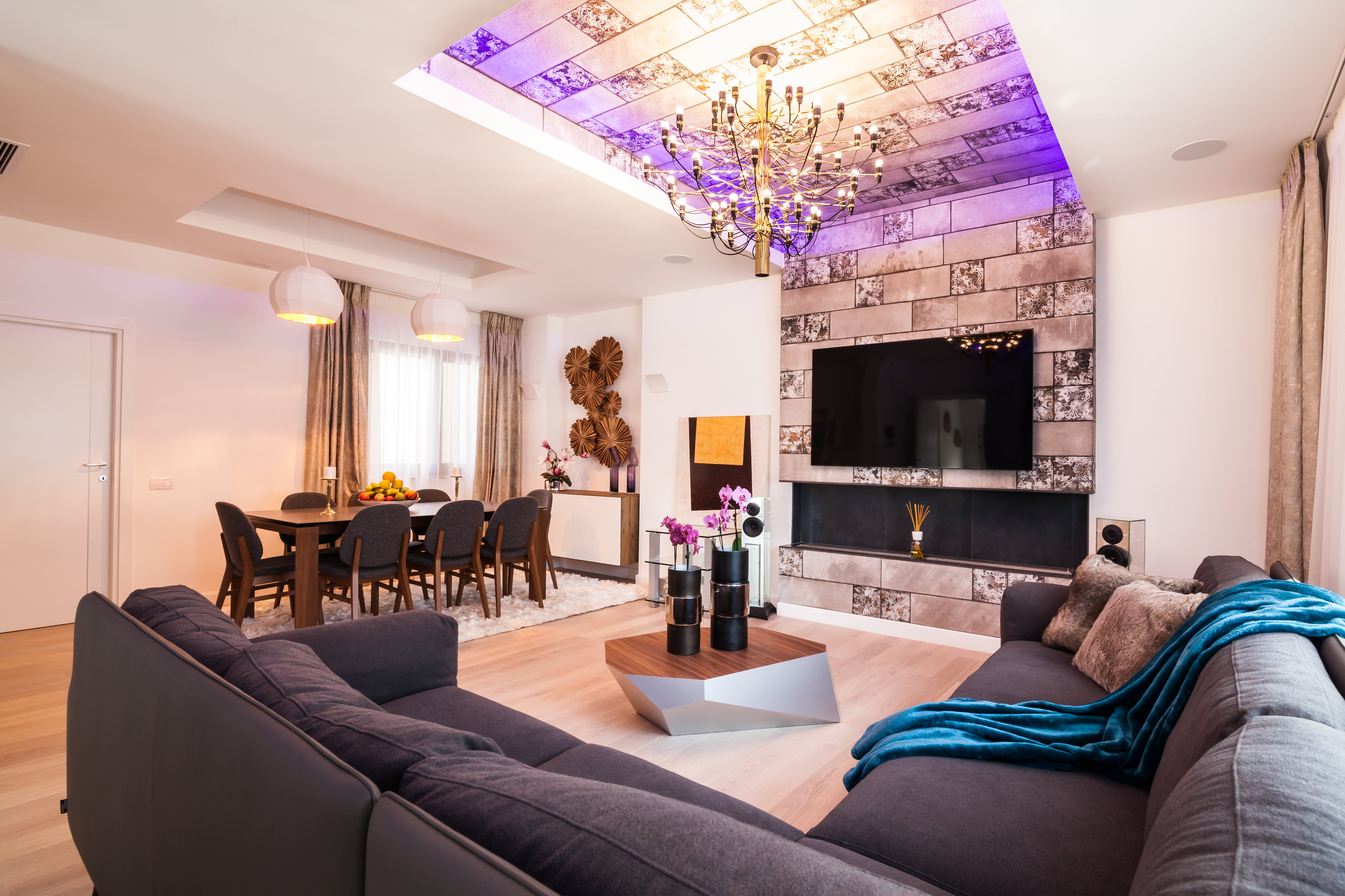 AMIRAL HOUSE MODERN STYLE, BUCHAREST – MODERN INTERIOR DESIGN ...