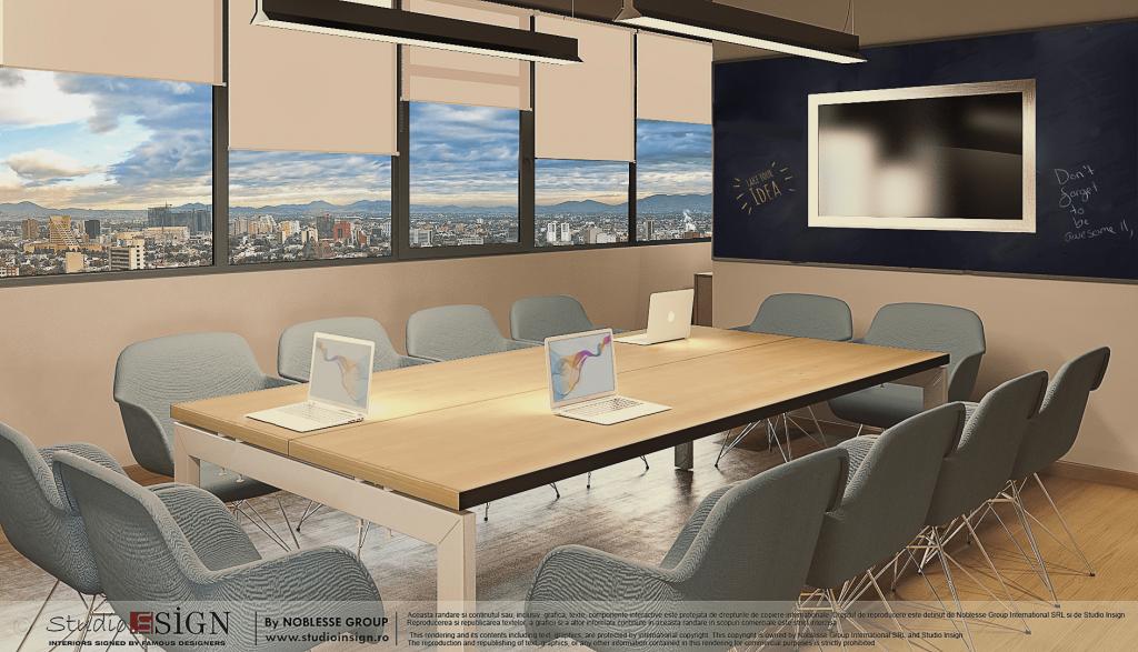 Digital marketing offices modern industrial interior for Modern industrial interior design