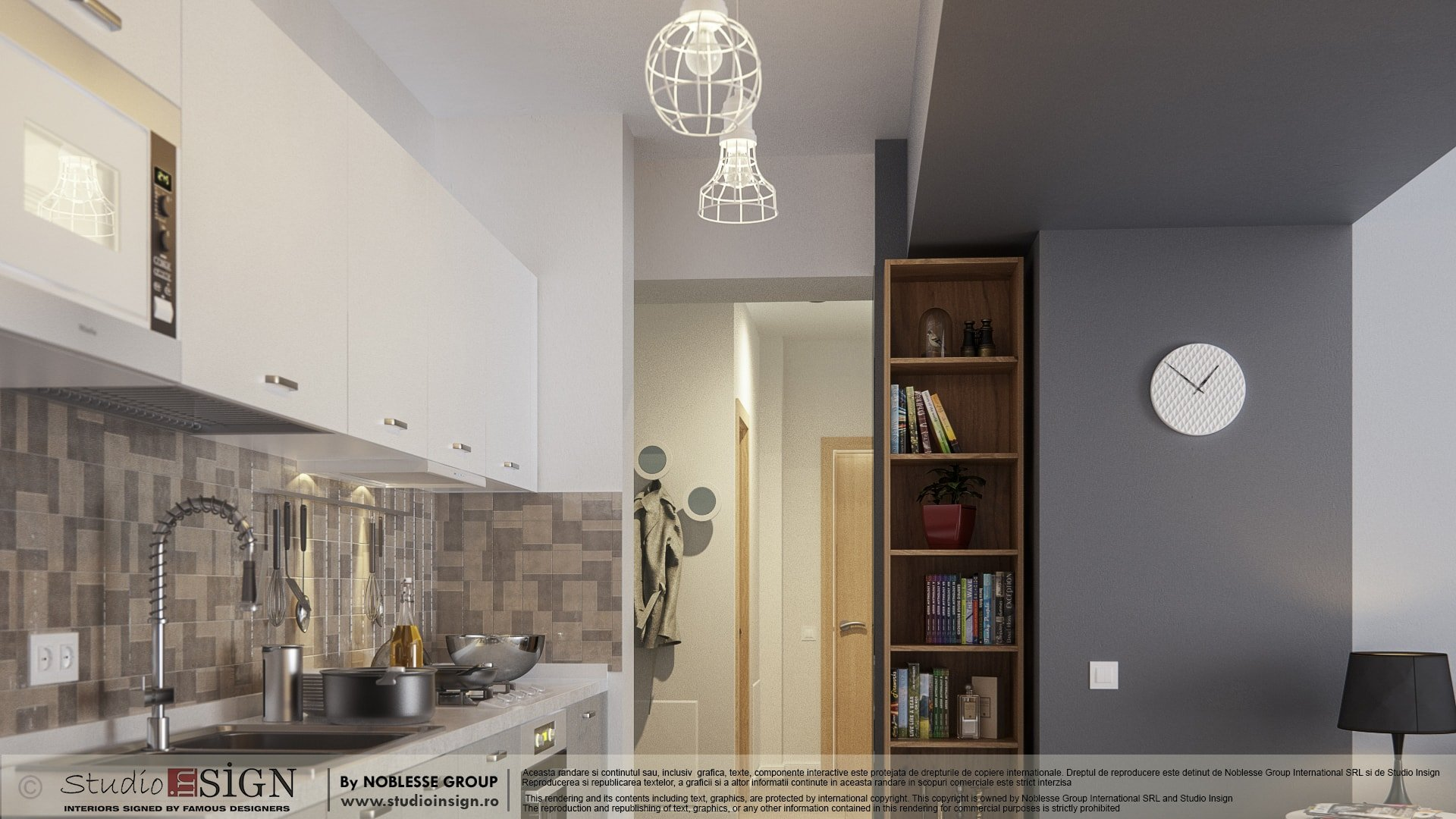 Apartment on splaiul independentei bucharest nordic interior design studio insign - Nordic interior design ...