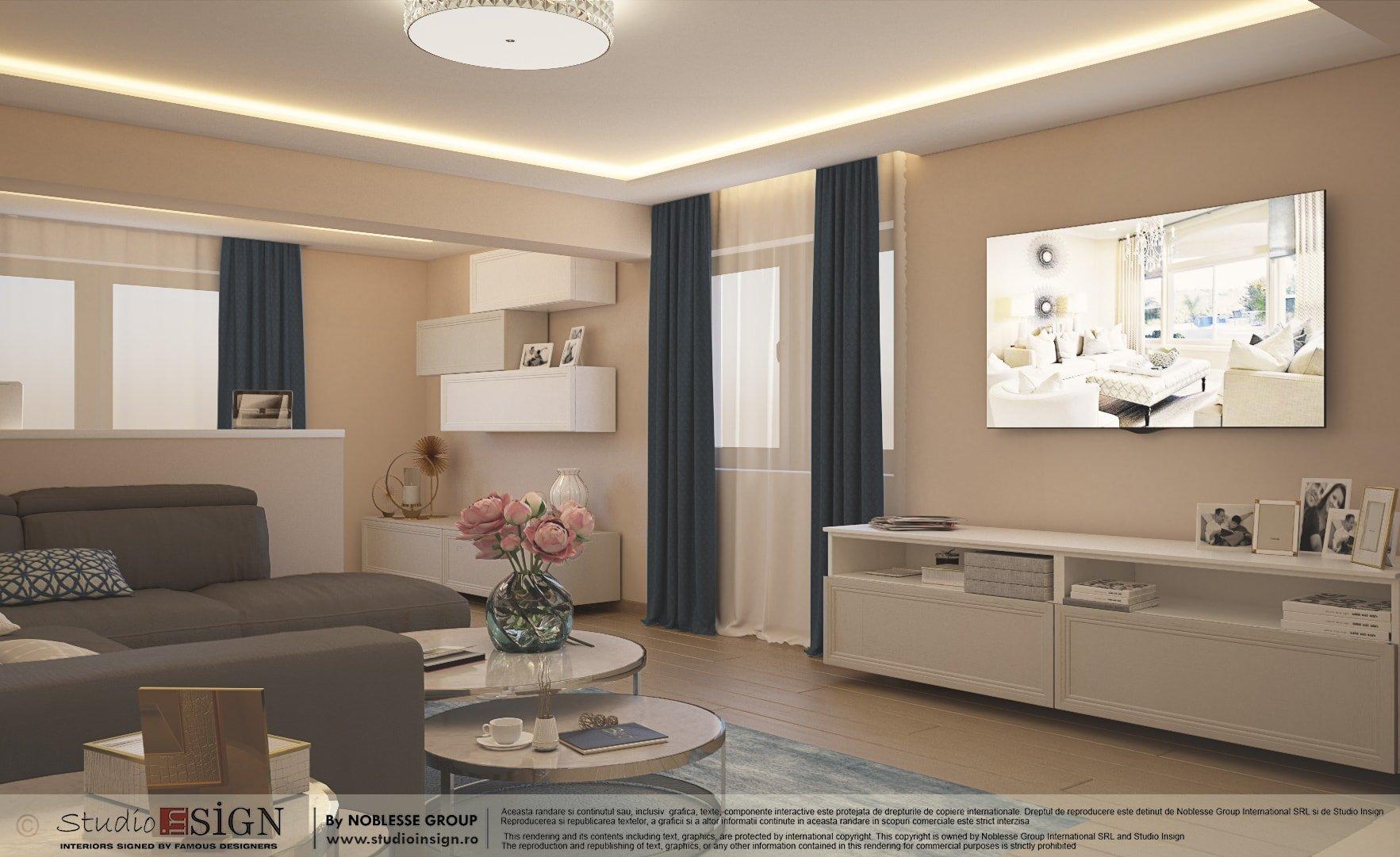 Casa Branesti - Design interior casa in stil eclectic