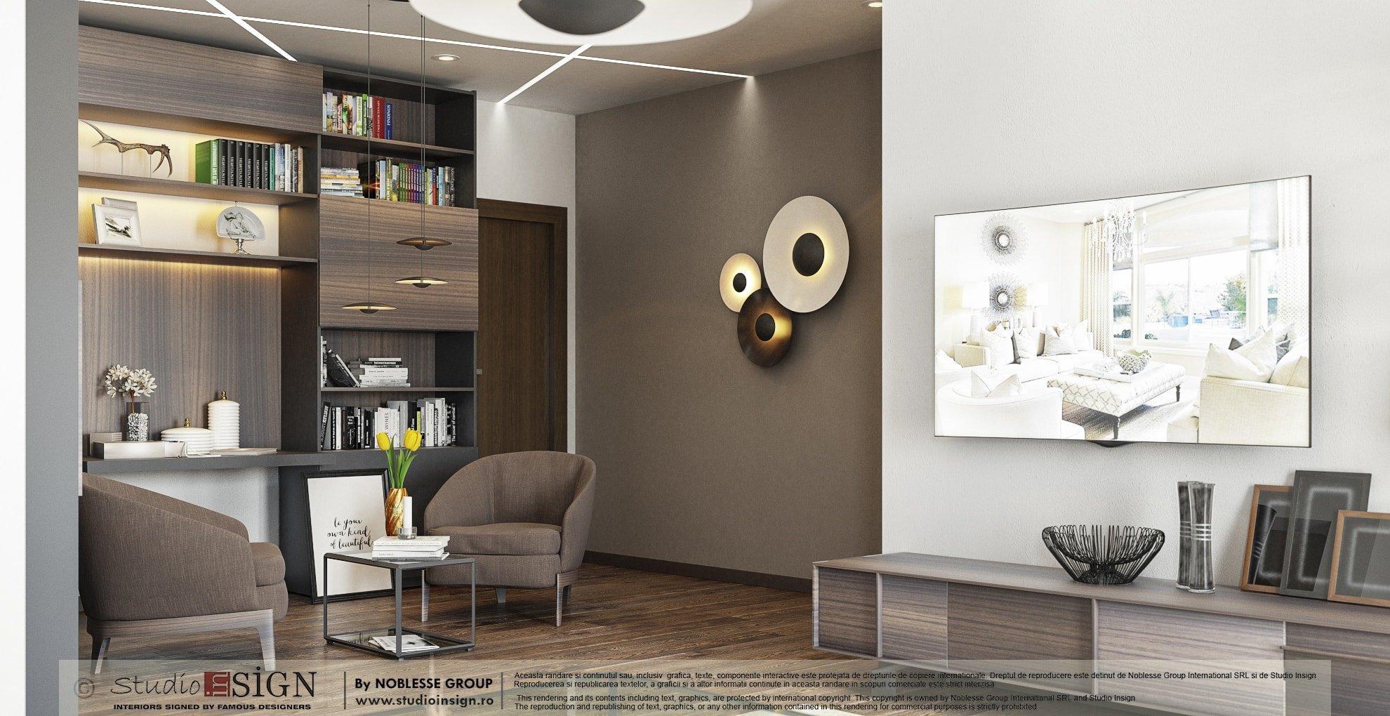 Apartment Reflexions Modern Interior Design Studio Insign