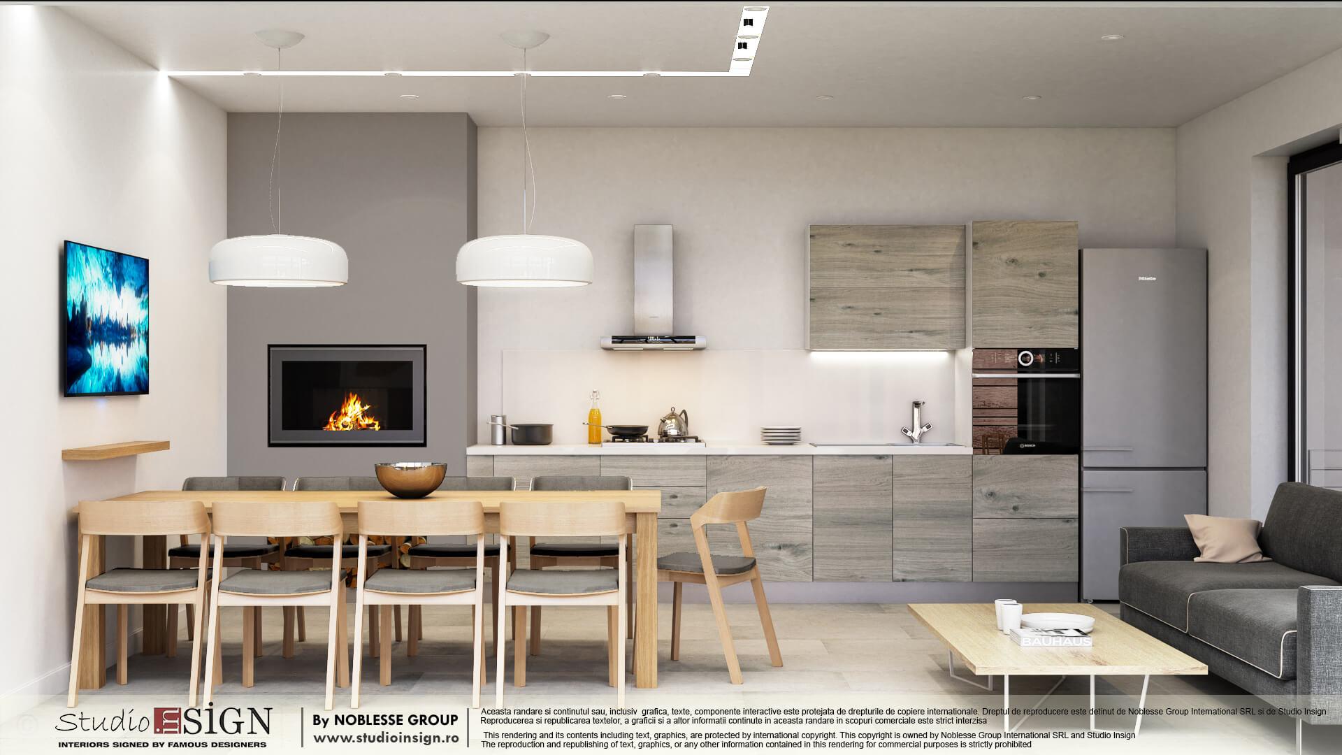 Design interior case Vila Buzau