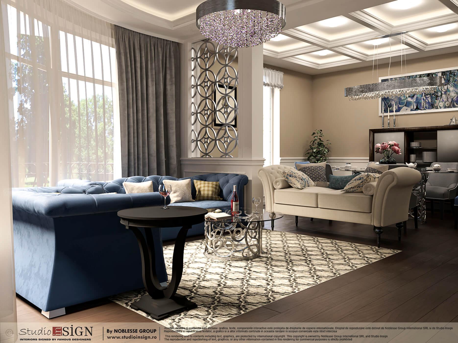 HOUSE IN PIPERA COLONIAL STYLE INTERIOR DESIGN Studio inSIGN
